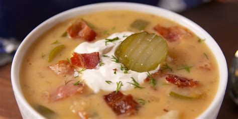 chicken and dill soup best loaded dill pickle soup how to make loaded dill pickle soup