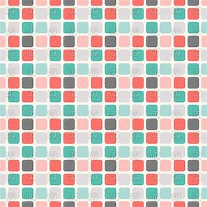 Abstract geometric square seamless pattern - mosaic tile ...