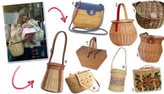 start carrying baskets   purses