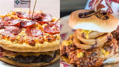 When it comes to insane ballpark food, Fenway isn't trying ...
