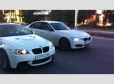 BMW 335i F30 Sport Line vs BMW 335i E92 LCI Turbo YouTube