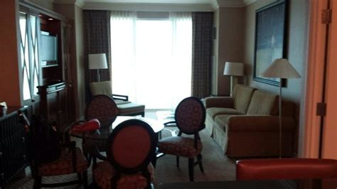 mgm signature one bedroom balcony suite one bedroom balcony suite living room picture of