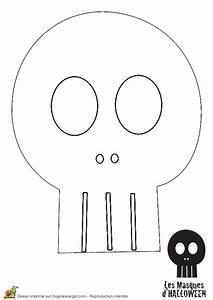 Dessin Citrouille Facile : coloriage tete de mort noire sur ~ Melissatoandfro.com Idées de Décoration