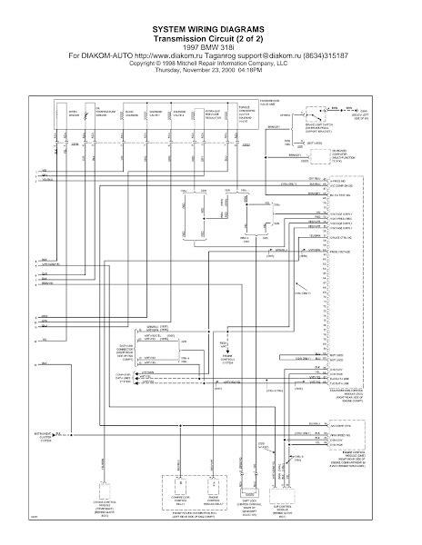 wiring diagrams and free manual ebooks 1997 bmw 318i transmission circuit diagram