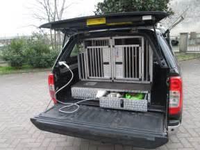 gabbia per trasporto cani gabbia amovibile per nissan navara 03 17 valli s r l