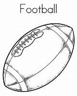 Football Coloring Pages Preschoolers Printable Activity Via sketch template