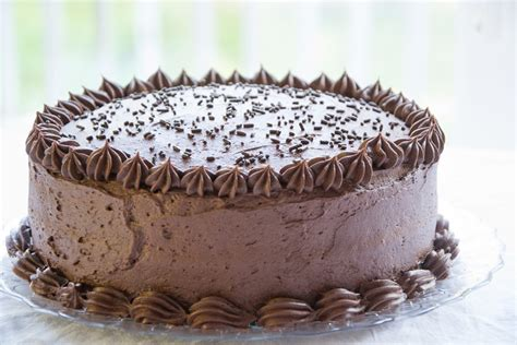 chocolate cake  chocolate frosting chateau elma