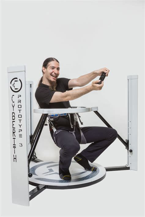 Cyberith Omnidirectional Vr Treadmill Launches 'virtualizer' Kickstarter On July 23rd  Road To Vr