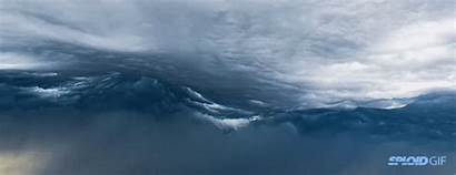 Cloud Amazing Alien Waves Invasion Apocalypse Herald