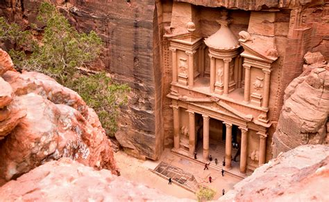 Different Views Of Petra The Inside Track