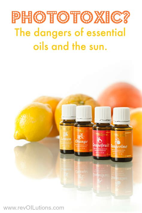 Phototoxic? The Dangers Of Essential Oils And The Sun