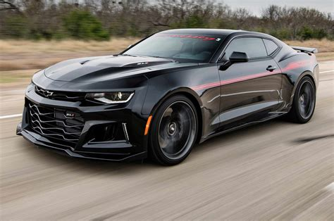 Watch The Hennessey Exorcist Camaro Zl1 Hit 350 Km/h