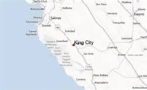 King City California County Map