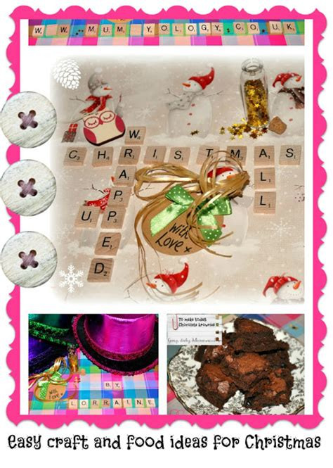 easy christmas food crafts easy craft and food ideas for mummyology