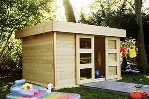 construire son abri de jardin elle decoration With construire un cabanon de jardin