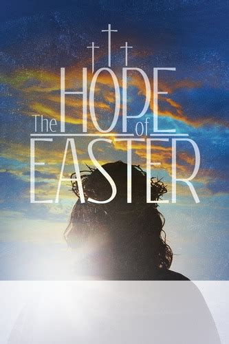 hope  easter poster church invitations outreach