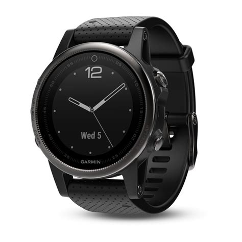 garmin band fenix 5x black garmin 39 s new fenix 5 5x and 5s smartwatches are
