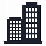 Empresa Building Silueta Silhouette Edificio Company Svg