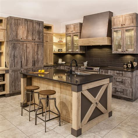 cuisine rustique cuisines beauregard kitchen project b5 rustic kitchen