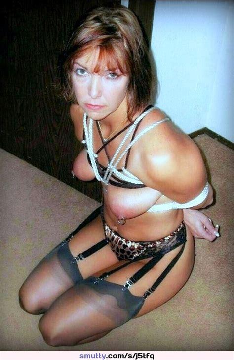 Milf Amateur Tied Rope Bondage Real Natural Mature
