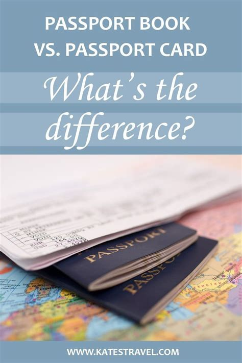 Maybe you would like to learn more about one of these? Passport Book vs. Passport Card: What You Need to Know - Kate's Travel | Passport card ...