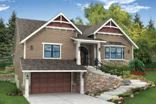 one story house plans with walkout basement craftsman house plans springvale 30 950 associated designs