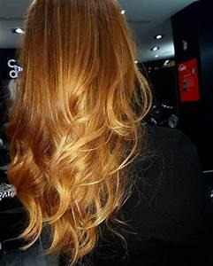 Ombré Hair Blond Foncé : ombr hair roux fonc blond soleil coiffeur coloriste paris ~ Nature-et-papiers.com Idées de Décoration