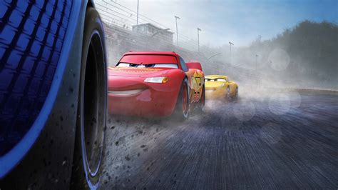 Cars 3 Jackson Storm Vs Cruz Ramirez Uhd 8k Wallpaper Pixelz