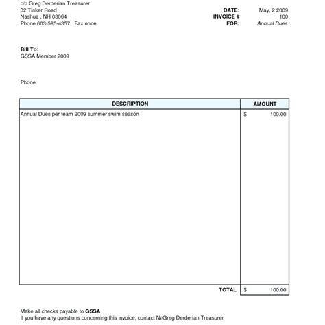 Simple Invoice Template Template Simple Invoice Template Uk