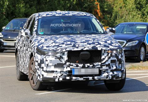 mazda cx  spy shots