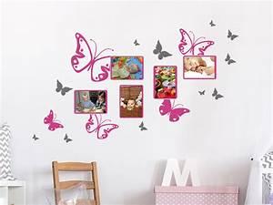 Wandtattoo Kinderzimmer Schmetterlinge : wandtattoo fotorahmen schmetterlinge wandtattoo de ~ Sanjose-hotels-ca.com Haus und Dekorationen