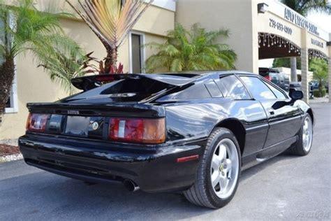 car manuals free online 1994 lotus esprit security system lotus esprit coupe 1994 black for sale sccfd30c1rhf61222 1994 lotus esprit s4 34k miles just
