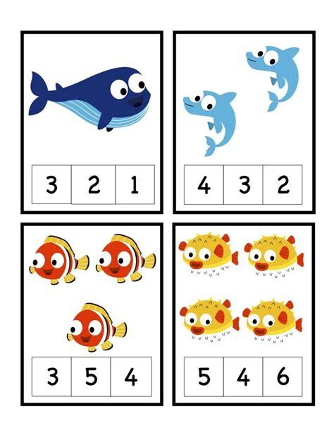 preschool printables teaching ideas 493 | 508b5a41800dc2fdcec2a0975e89115d ocean activities math activities