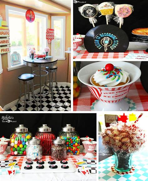Kara's Party Ideas Retro 1950's Dad's Diner Father's Day