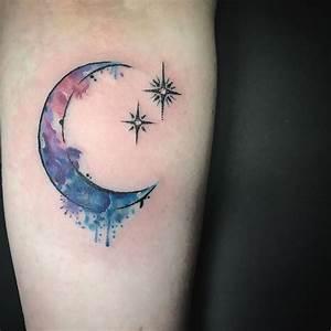 25+ best Crescent moon tattoos ideas on Pinterest | Moon ...