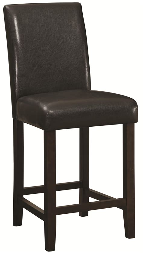 coaster dining chairs and bar stools 24 quot counter height