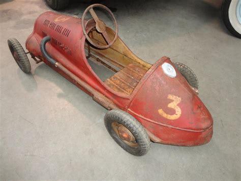 Alfa Romeo-patina Pedal Car