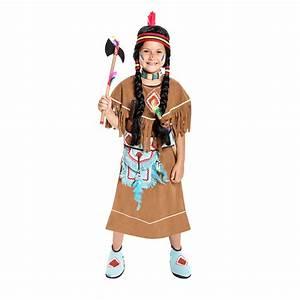 Indianer Kostüm Mädchen : indianer kost m m dchen braun mit tasche kost mplanet ~ Frokenaadalensverden.com Haus und Dekorationen