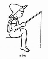 Fishing Coloring Boy Colouring Ausmalbilder Angeln Relampago Sheets Votos Kinder Malvorlagen Zum Azcolorir Recomendadas Albuns sketch template