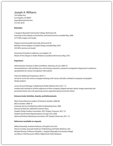 does a resume ned interests interests on resume image collections cv letter