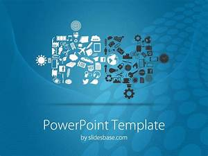 Connecting Puzzles Powerpoint Template