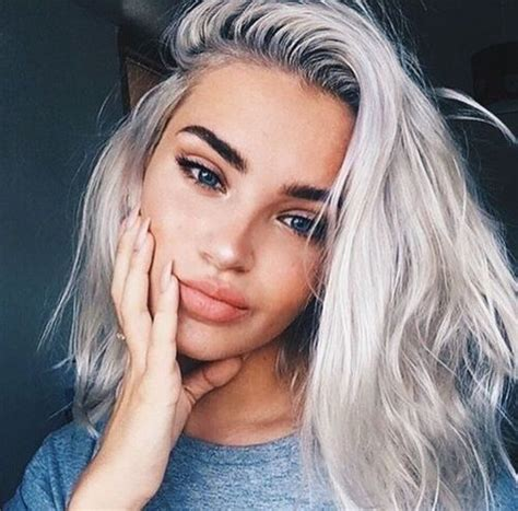 Pictures Platinum Hair by Best 25 Platinum Hair Ideas On Silver