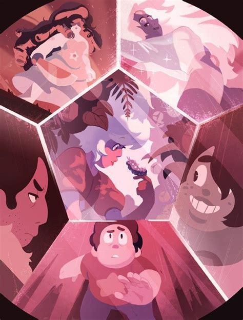 steven universe fan art fusion stevonnie connie pink