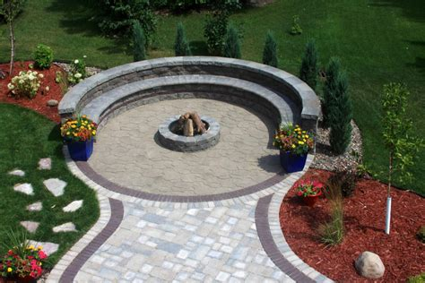 outdoor pit areas round patio pavers gravel driveway landscaping ideas gravel driveway edging interior designs