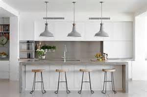 kitchen island white 30 gorgeous grey and white kitchens that get their mix right