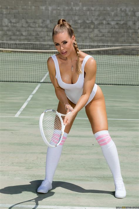 Blonde Tennis Babe Loves Fucking Huge Cocks Photos Nicole