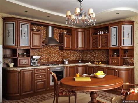 Дизайн кухни в классическом стиле Интерьер кухни в стиле