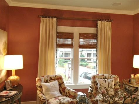 silk curtain panels with trim leading edge