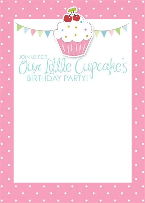 blank birthday invitations shilohmidwiferycom