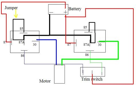 Evinrude Power Trim Wiring Diagram by Tilt Only Wiring Diagram Page 1 Iboats Boating Forums